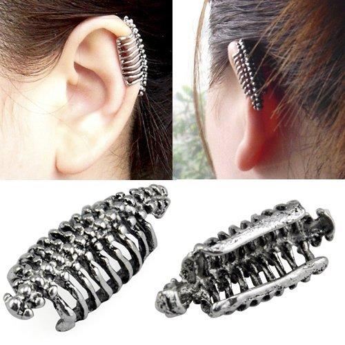 stile stravagante ear di Orecchino bohémien 5starwarehouse® forma gitano A015 a in scheletro gabbia cuff di etnico toracica TSq7wB7R