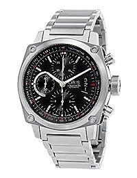 Oris BC4 Chronograph Automatic Steel Mens Watch Calendar Black Dial 674-7616-4154-MB