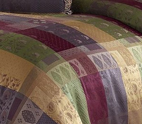 Chezmoi Collection Gitano Jacquard Patchwork 7 Piece