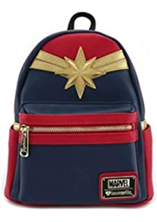 4969d608ddb2 Amazon.com  Marvel Captain Marvel Padded Strap Backpack Laptop ...