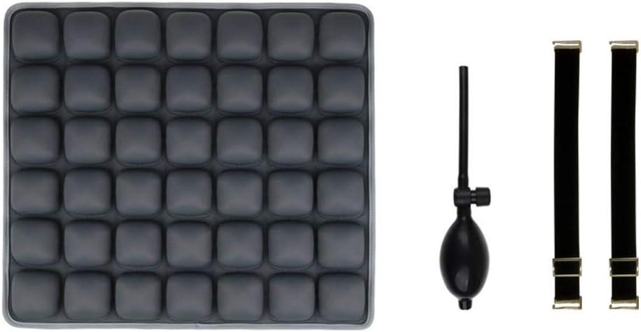 Z@SS Airbag del Amortiguador de Asiento Amortiguador Trasero 3D Relax descompresión Oficina de Coches Cojín airbag del Amortiguador de Asiento Amortiguador Trasero,4