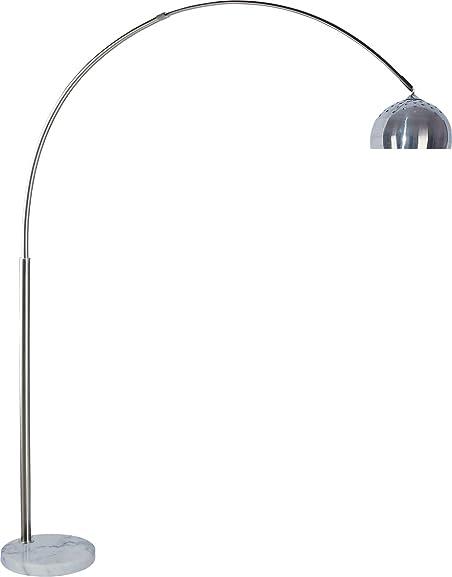 SH Lighting 81″ 6935 Steel Adjustable Arching Floor Lamp