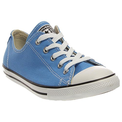 Converse Women Chuck Taylor Dainty Ox (blue / monte blue)-6.0 - Converse All Star Multi Eyelet