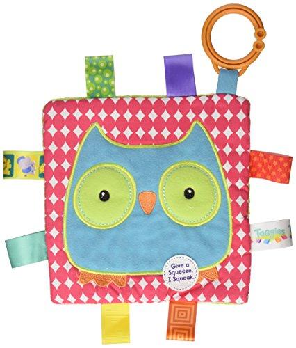 Taggies Crinkle Me Toy, Owl