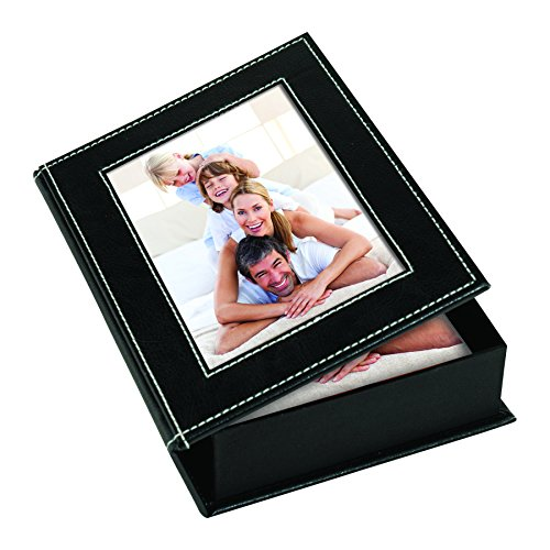 4 x 6 Black Photo Box