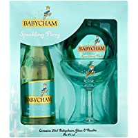 Babycham Sparkling Perry Glass & Bauble Gift Set