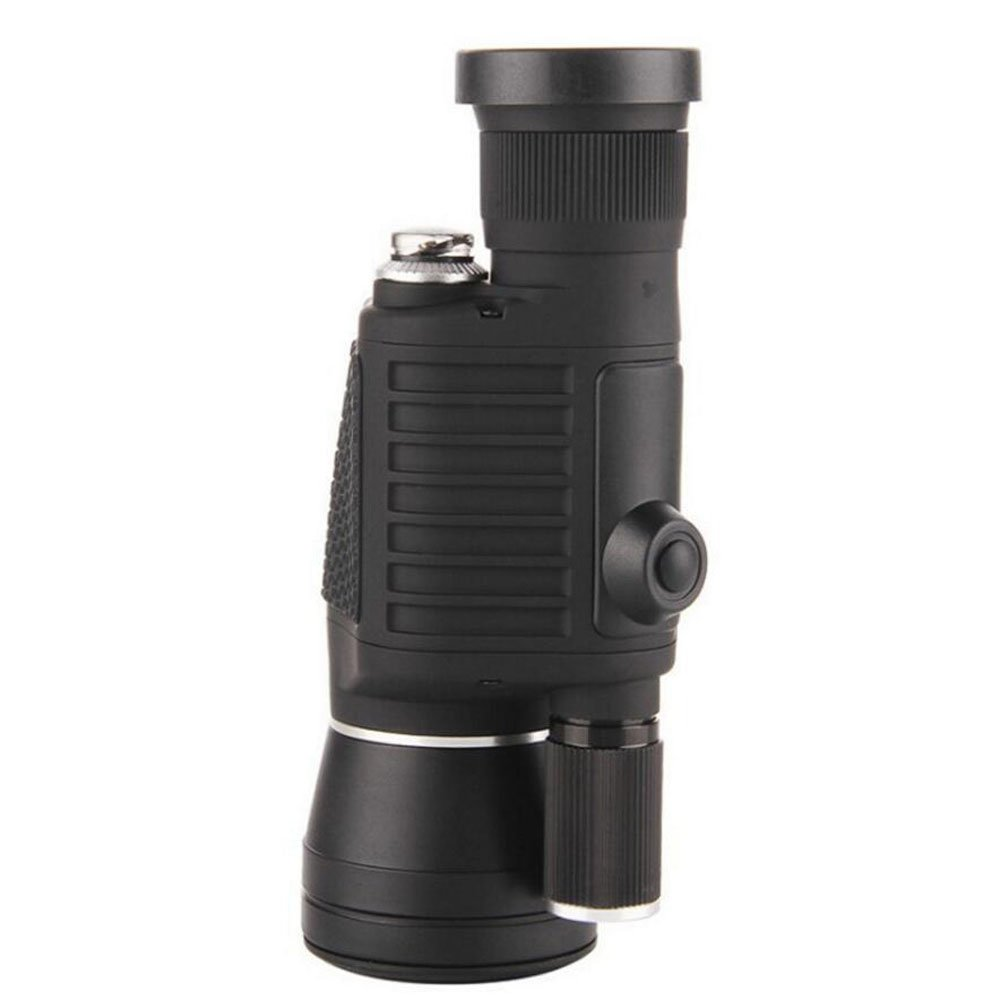 RYRYBH Adult Outdoor 8x40 Single Lens Lighting Telescope Outdoor Portable High List Pole with Compass Night Vision Lights (3 Lighting Effects) Telescope