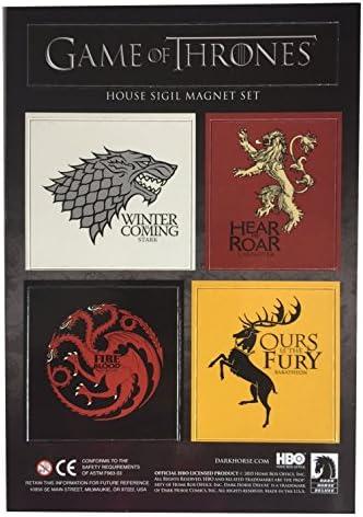HBO - Juego oficial de imanes de los escudos con los lemas de las ...