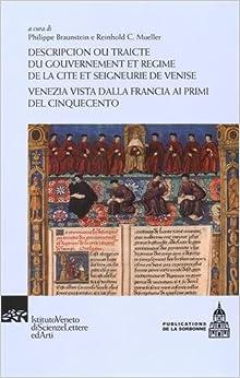 Book Descripcion ou traicté du gouvernement et régime de la cité et seigneurie de Venise