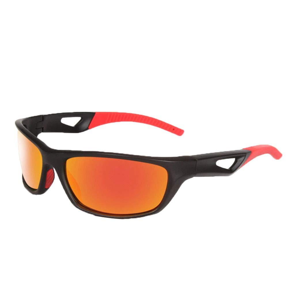 TADAMI Unisex Fashion Designer Retro Sports Cycling Biker Semi Rimless Goggle Style Vintage Sun Glasses 100/% UV Blocking Outdoor Eyewear