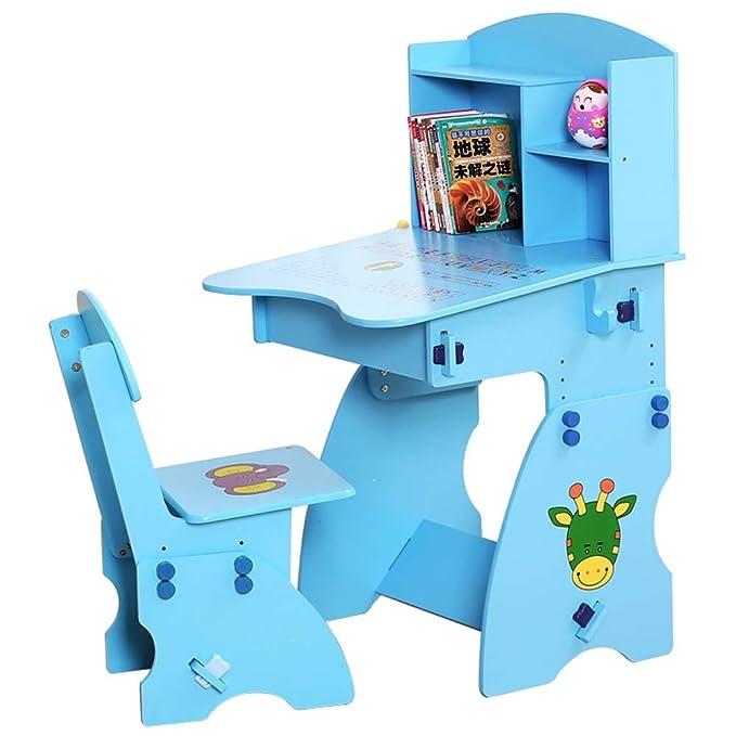 Escritorio para Niños Mesa y silla para niños Mesa de estudio Mesa ...