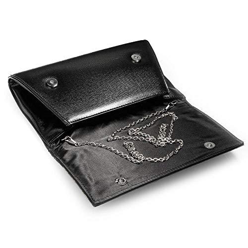 Pochette Femme Unique Argent Or Simanli Taille Silver pour ZTPxpFTdwq