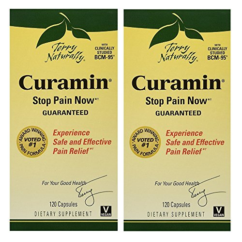 Terry Naturally/Europharma Curamin -120 Capsules -2 Pack by Terry Naturally