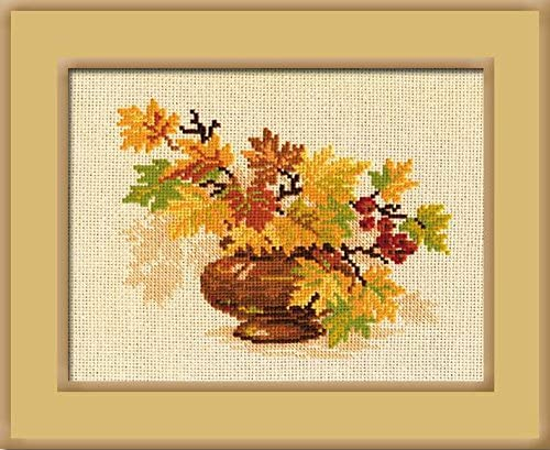 Counted Cross Stitch Kit RIOLIS Autumn vacation