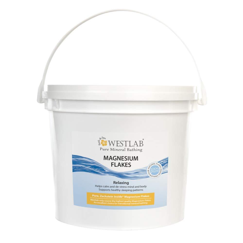 Westlab - Fiocchi di magnesio (cloruro di magnesio esaidrato), 5 kg, secchio richiudibile (l'imballaggio può variare) WL MG003