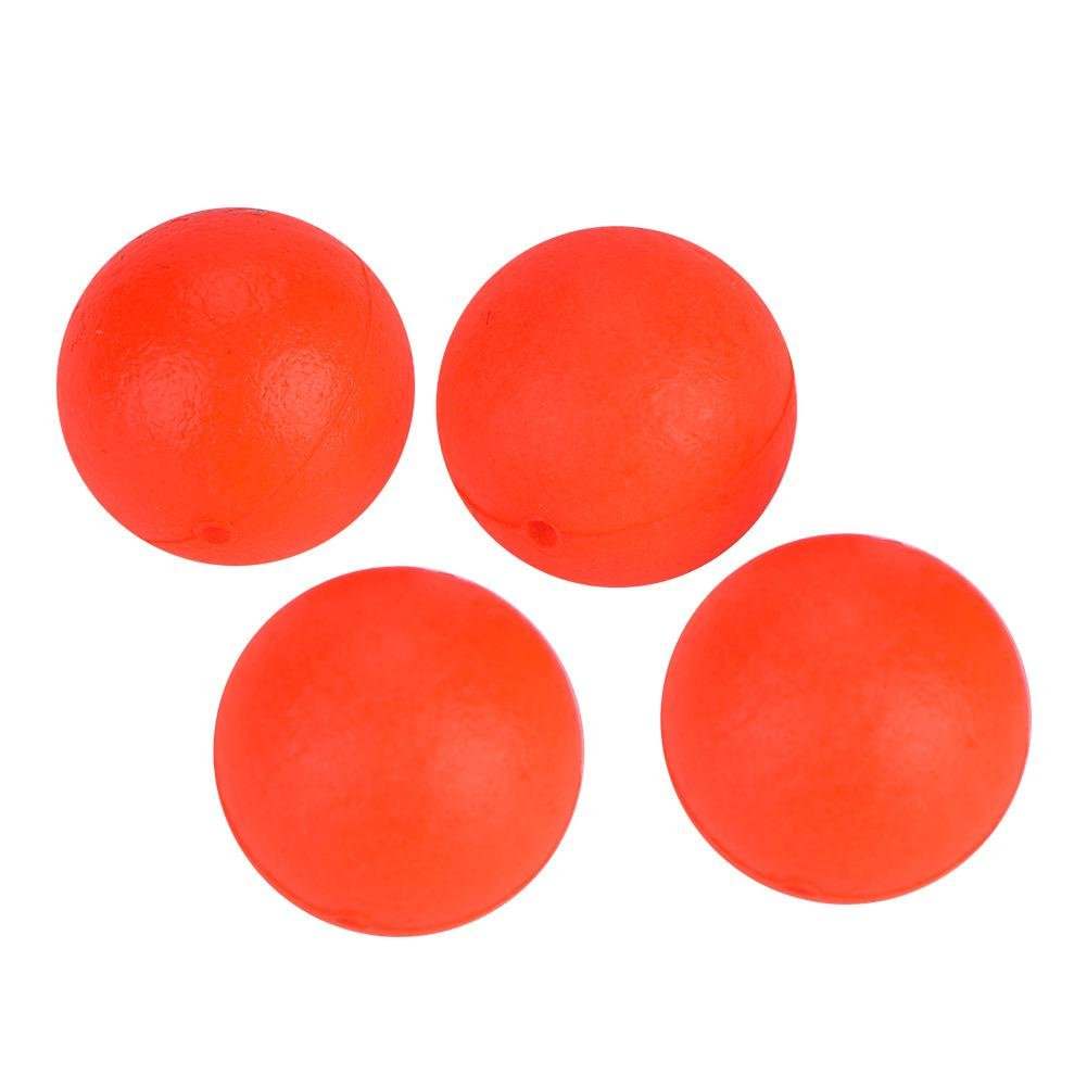 Fishing Lure Float Balls,100Pcs EPS Foam Buoyancy Ball Fishing Float Bobbers Drift Ball Strike Indicator Fishing Tackle Foam Indicator (4#(18mm))