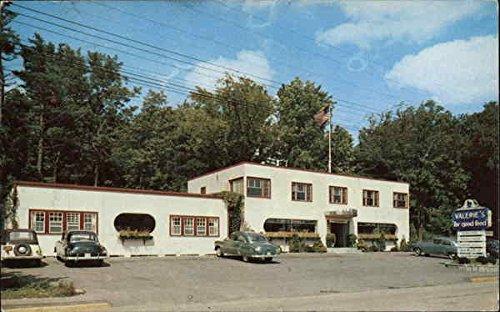 Valeries Restaurant Ogunquit Maine Original Vintage Postcard At