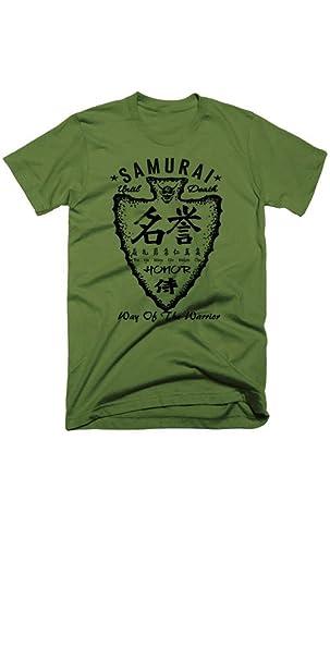 Samurai T-Shirt Bushido Japanese Kanji Katana Ninja Style ...