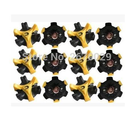 Star Trade Inc - The metal screw 16Pcs Golf Shoe Spikes Replacement Champ Cleat Screw Fast Twist For Joy by Star Trade Inc