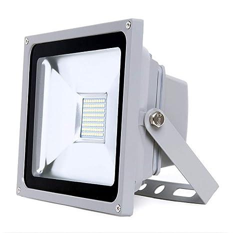 Greenice   Foco Proyector LED IP65 SMD Brico 50W 5500Lm 30.000H   Blanco Cálido