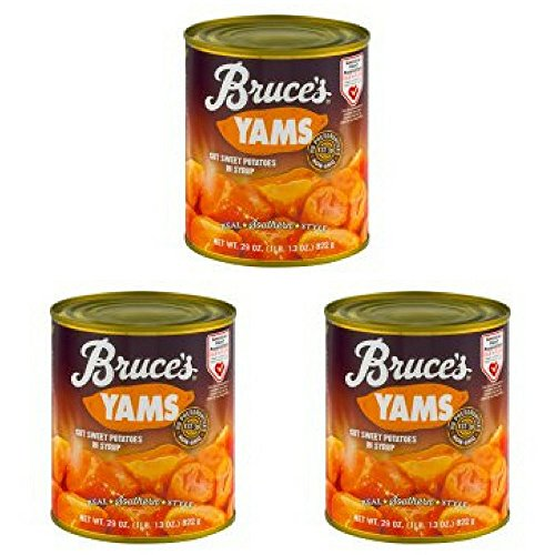 - Bruce's Yams Cut Sweet Potatoes in Syrup, 29.0 OZ - Pack of 3