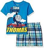 Thomas Toddler Boys 2 Piece Plaid Short Set
