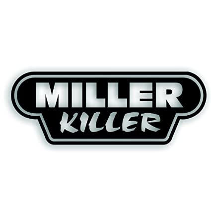 Miller killer decal for tig mig welder or welding tank windshield or truck bumper