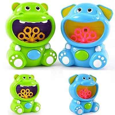 Lacegre Children's Electric Bubble Blowing Machine Automatic Bubble Toys Bubbles : Baby