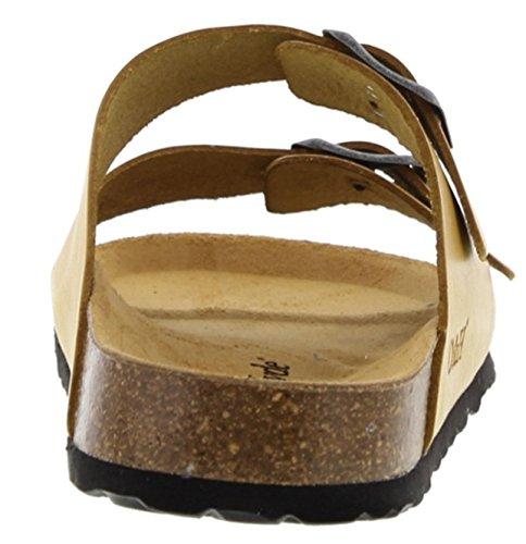 Vintage burkinstock Supper Lemon Style Oak amp; Leather Sandals Malaga Hyde q4npx0wtTC