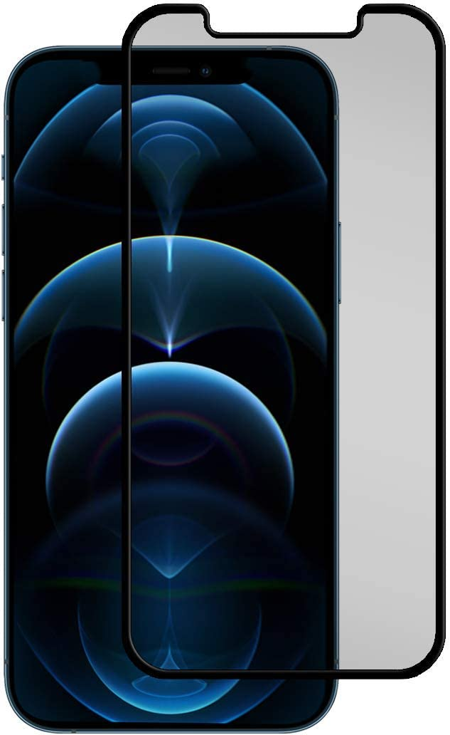 APPLE IPHONE 12 PRO MAX INSURED CURVED FLEXIBLE SCREEN PROTECTOR BLACK ICE+ $150 FLEX Edition | iPhone 12, 12 Pro and 12 Pro Max (iPhone 12 Pro Max)