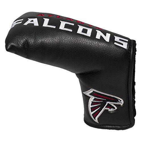 (Team Golf NFL Atlanta Falcons Golf Club Vintage Blade Putter Headcover, Form Fitting Design, Fits Scotty Cameron, Taylormade, Odyssey, Titleist, Ping,)