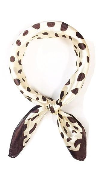 Neckerchief Satin Bandana Neck Scarf Headband Wrap d922236c0e6