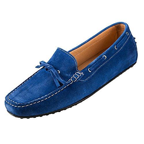 mac´s shoes - Mocasines de Piel para mujer Verde verde 40 Verde - azul