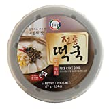 Surasang Instant Cup Rice Cake Soup (6.3 oz/ 1 Serving) Pack of 12