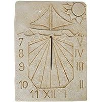 CATART Reloj DE Sol EN Piedra Pared Exterior