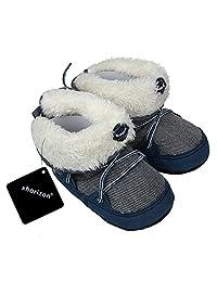 xhorizon TM FL1 Baby Boys Warm Winter Toddler Boots Shoes