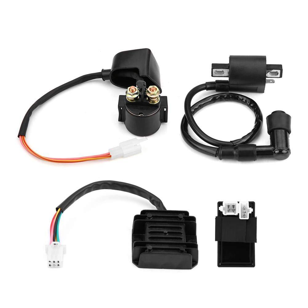 Magnet f/ür 150cc 250cc PIT Quad ATV-Buggy Gleichrichterregler CDI-Einheit Z/ündspule Spule Gleichrichter CDI Spule
