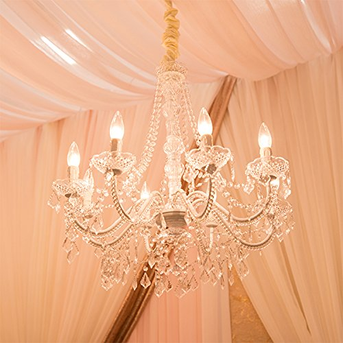 - Event Decor Direct 8-Arm Royal Queen Crystal Chandelier