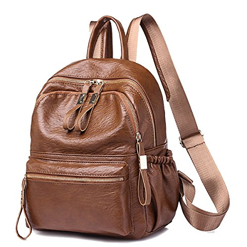 Coolives Leather Travel Bags Small Backpack Fashion Girls Candy-colored Women Online
