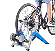 Teraysun Folding Bike Trainer Stand for Indoor Riding,Bike Exercise Trainer Converter Steel
