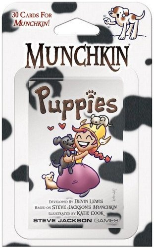 Munchkin CURSES Expansion Card Game 15 Cards Booster Pack -
