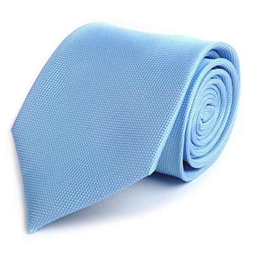 Mini Dotted Micro Fiber Poly Tie (Baby (Baby Blue Necktie)
