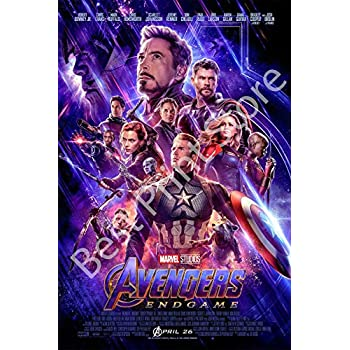 The Movie Poster Avengers Endgame Best Print Store 16x24 inches