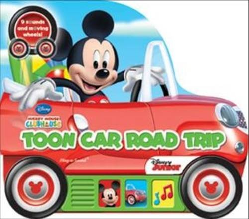 Mickey Mouse Clubhouse: Toon Car Road Trip: Shaped Vehicle Play-a-Sound Book (Little Vehicle Book)