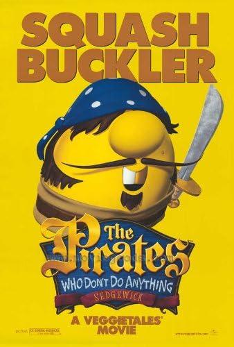 Amazon.com: Los piratas Que No Hacer Nada Póster de la ...