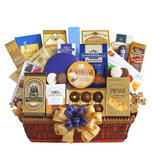 - California Delicious Office Delights Gourmet Gift Basket