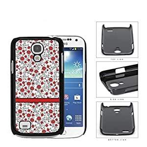 Pattern Of Red Roses Hard Plastic Snap On Cell Phone Case Samsung Galaxy S4 SIV Mini I9190