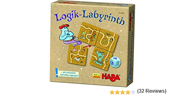 HABA 301886 – Lógica de Laberinto, Juego de Mesa.: Amazon.es ...