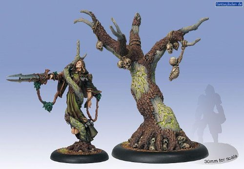 Hordes: Circle Orboros Cassius The Oathkeeper and Wurmwood Tree of Fate (2 figures) by Privateer Press