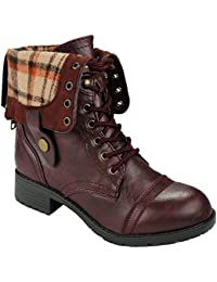 Amazon.com: Combat - Boots / Shoes: Clothing, Shoes & Jewelry